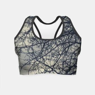 Miniatur Clouds and branches Crop Top, Live Heroes