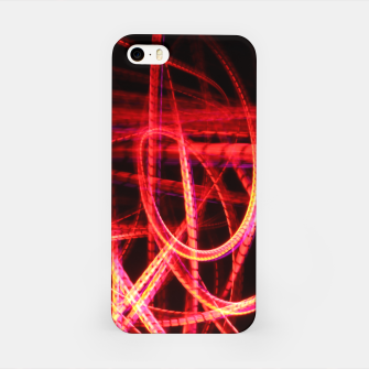 Thumbnail image of Abstract red and orange light effect iPhone Case, Live Heroes