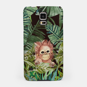 Thumbnail image of Little monkey in the jungle Carcasa por Samsung, Live Heroes