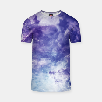 Thumbnail image of Violet clouds T-shirt, Live Heroes