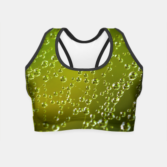 Miniaturka water drops  Crop Top, Live Heroes