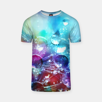 Colorful water drops  T-shirt thumbnail image