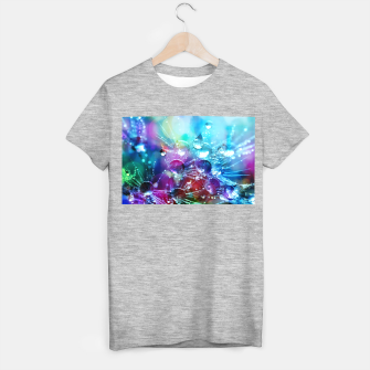 Colorful water drops  T-shirt regular thumbnail image