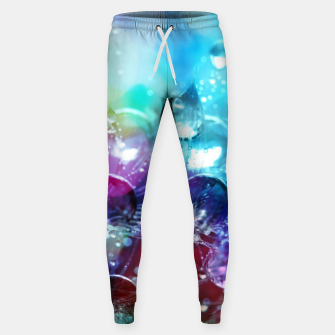Colorful water drops  Sweatpants thumbnail image