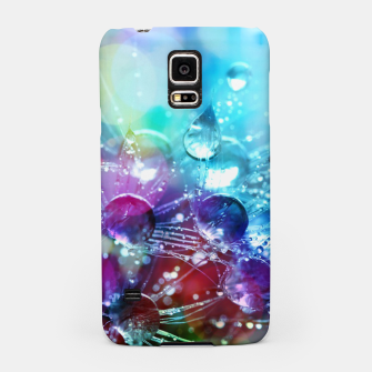 Colorful water drops  Samsung Case thumbnail image
