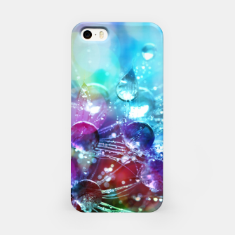 Thumbnail image of Colorful water drops  iPhone Case, Live Heroes