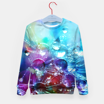 Colorful water drops  Kid's sweater thumbnail image