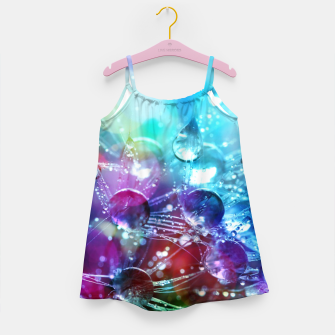Colorful water drops  Girl's dress thumbnail image