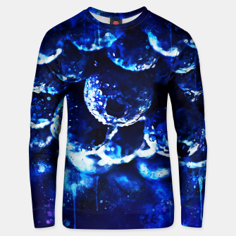 Miniaturka gxp blueberry blue berries pattern splatter watercolor  Unisex sweater, Live Heroes