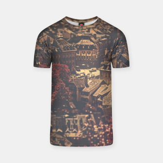 Thumbnail image of City scape T-shirt, Live Heroes