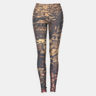 Thumbnail image of City scape Leggings, Live Heroes