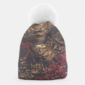 Thumbnail image of City scape Beanie, Live Heroes