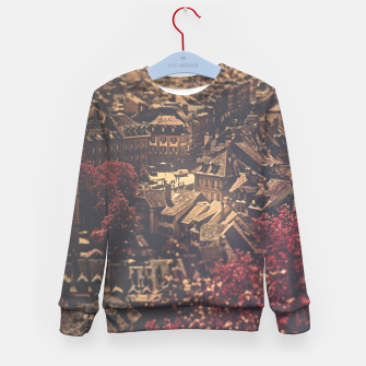Thumbnail image of City scape Kid's sweater, Live Heroes