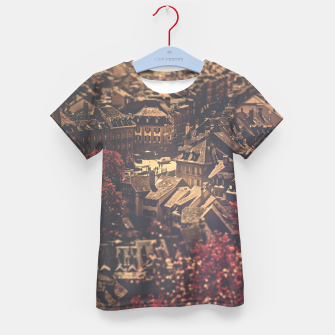 Thumbnail image of City scape Kid's t-shirt, Live Heroes