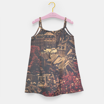 Thumbnail image of City scape Girl's dress, Live Heroes