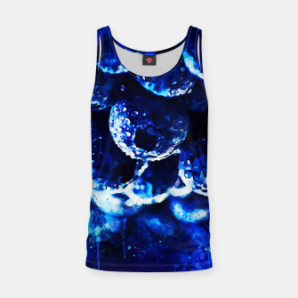 Miniaturka gxp blueberry blue berries pattern splatter watercolor  Tank Top, Live Heroes