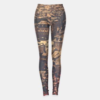 Miniaturka City scape Leggings, Live Heroes