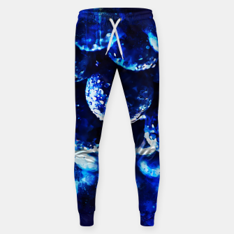 Miniaturka gxp blueberry blue berries pattern splatter watercolor  Sweatpants, Live Heroes