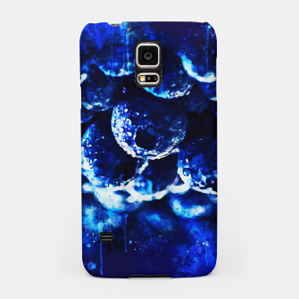 Miniaturka gxp blueberry blue berries pattern splatter watercolor  Samsung Case, Live Heroes