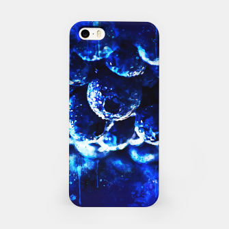 Thumbnail image of gxp blueberry blue berries pattern splatter watercolor  iPhone Case, Live Heroes