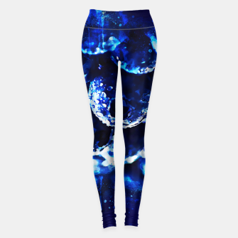 Miniaturka gxp blueberry blue berries pattern splatter watercolor  Leggings, Live Heroes