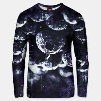 Miniaturka gxp blueberry blue berries pattern splatter watercolor deep purple Unisex sweater, Live Heroes