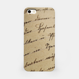 Thumbnail image of vintage letter iPhone Case, Live Heroes