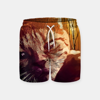 Miniature de image de gxp set your cat free vector art  Swim Shorts, Live Heroes