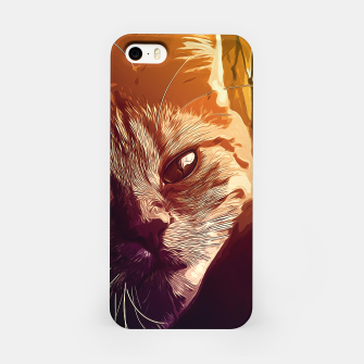 Thumbnail image of gxp set your cat free vector art  iPhone Case, Live Heroes