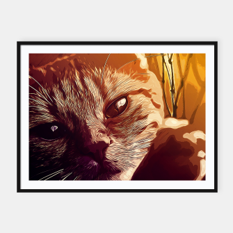 Miniatur gxp set your cat free vector art  Framed poster, Live Heroes