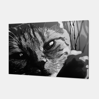 Thumbnail image of gxp set your cat free vector art black white Canvas, Live Heroes