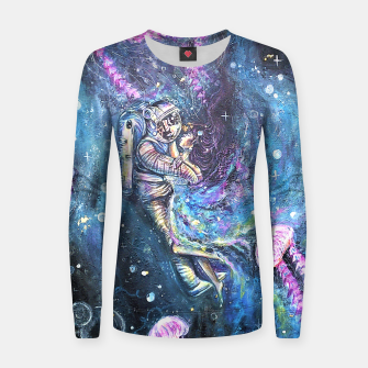 """Thumbnail image of """"Deep Love"""" Womens Sweater, Live Heroes"""