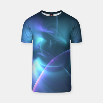 Thumbnail image of Light in the Dark Abstract Fractal Art Design T-shirt, Live Heroes