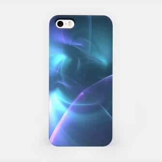 Thumbnail image of Light in the Dark Abstract Fractal Art Design iPhone Case, Live Heroes