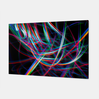 Thumbnail image of Abstract Multi-Color Light Effect  Canvas, Live Heroes
