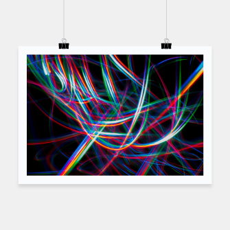 Thumbnail image of Abstract Multi-Color Light Effect  Poster, Live Heroes