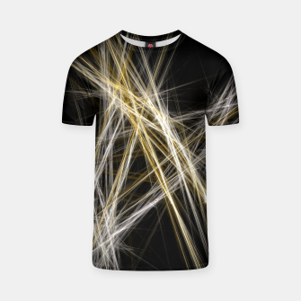 Thumbnail image of Abstract 1 - Gold & Silver T-Shirt, Live Heroes
