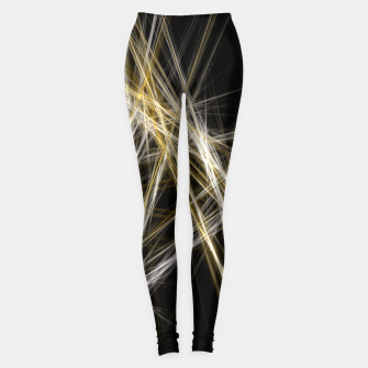 Miniaturka Abstract 1 - Gold & Silver Leggings, Live Heroes