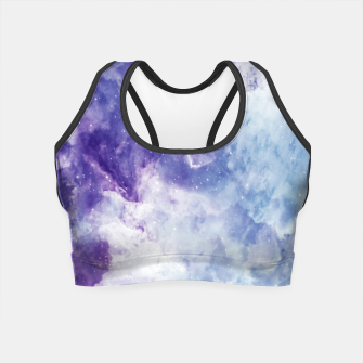 Miniaturka Violet clouds Crop Top, Live Heroes