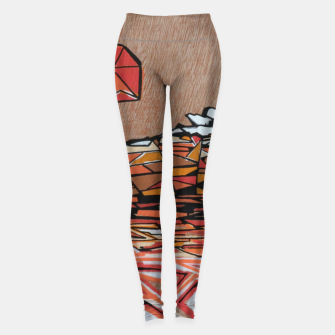 Miniaturka Orange Cube Leggings, Live Heroes