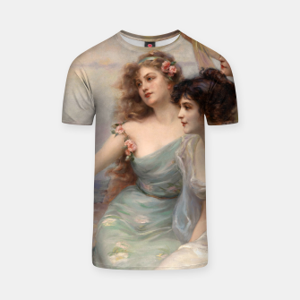 Miniaturka The Three Graces by Edouard Bisson T-shirt, Live Heroes