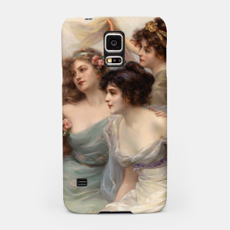 Miniaturka The Three Graces by Edouard Bisson Samsung Case, Live Heroes