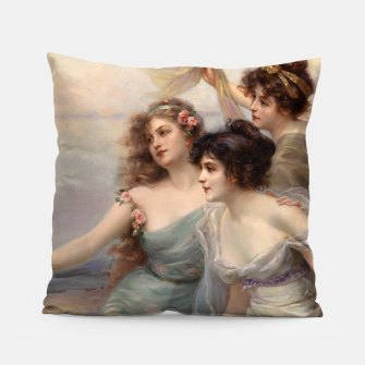 Miniaturka The Three Graces by Edouard Bisson Pillow, Live Heroes
