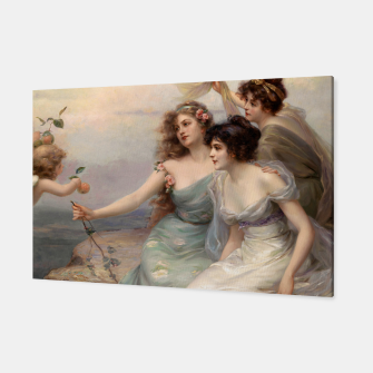 Miniaturka The Three Graces by Edouard Bisson Canvas, Live Heroes