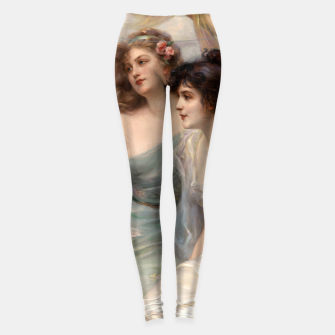 Miniaturka The Three Graces by Edouard Bisson Leggings, Live Heroes