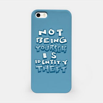 Miniature de image de ID theft iPhone Case, Live Heroes