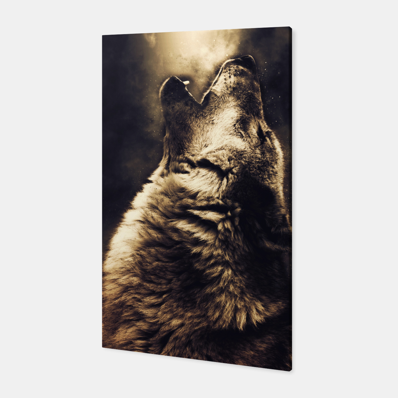 Foto Wolf 5 Canvas - Live Heroes