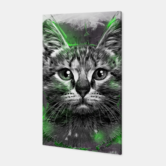 Miniatur Cat Canvas, Live Heroes