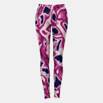 Miniaturka Pink abstract Leggings, Live Heroes