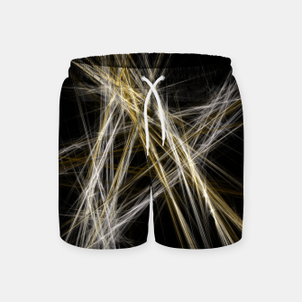 Thumbnail image of Abstract 1 - Gold & Silver Badeshorts, Live Heroes